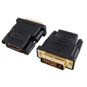 HDMI Female naar 24+1 DVI Male Adapter