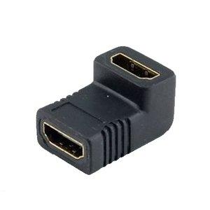 HDMI femelle vers HDMI femelle Connecteur 90 °