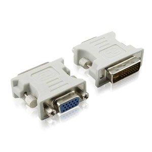 DVI 24 +5 Stecker auf VGA Buchse Adapter