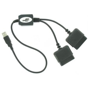 Câble convertisseur USB à 2x Playstation 2