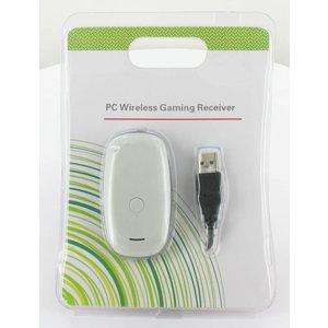 Récepteur USB sans fil pour contrôleur XBOX 360, blanc