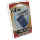 64 Mo de carte mémoire pour GameCube
