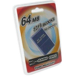 64 Mo de carte mémoire pour GameCube et Wii