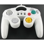 Manette filaire pour GameCube et Wii, blanc