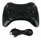 Wireless Controller for the Wii U Black