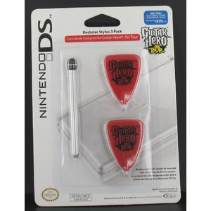 Rockstar Stylus 3 Pack for DS Lite, Guitar Hero On Tour Edition
