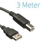 Dolphix USB 2.0 A - B - Câble d'imprimante 3 mètres