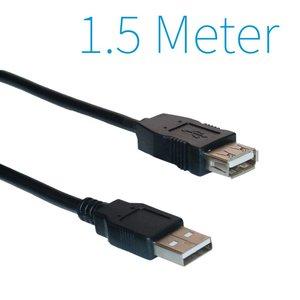 USB 2.0 Extension Cable 1.5 Mètre mâle - femelle.