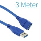 USB 3.0 Extension Cable 3 mètres