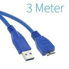 USB 3.0 A - Micro B Câble de 3 mètres