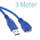 USB 3.0 A - Micro-B-Kabel 3 Meter