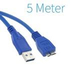 USB 3.0 A - Micro-B-Kabel 5 Meter