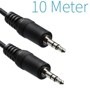 3,5 mm Audio-Klinkenkabel 10 Meter