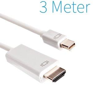 Mini port d'affichage vers câble HDMI mâle 3 mètres