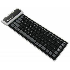 Flexible wireless bluetooth keyboard universal