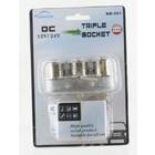 12V Sigarettenaansteker splitter van 1 naar 3 - 60Watt