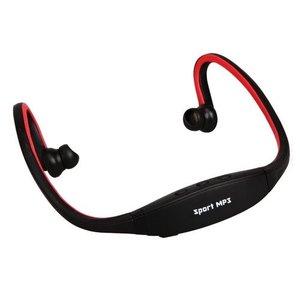 Casque Sport avec fonction MP3-Rouge