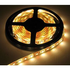 RGB+WW LED Strip 60led p/m 5 meter IP65 Compleet