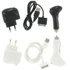 Dolphix 4in1 Ladegerät Set für iPhone 3G / 3GS / 4