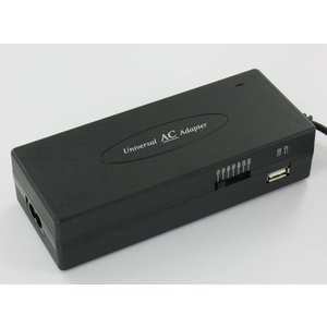 Universal Notebook Adapter 120W with USB Port