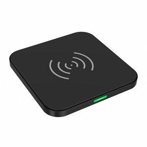 Choetech Drahtloses QI-Smartphone-Ladegerät - 10 W - 5 V-2A - Schnellladung - Rutschfestes Design - Schwarz