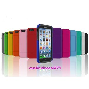 iPhone Case with 6 cards holder (4.7 '')