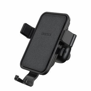 Choetech - Wireless Qi charger for in the car - Fast Charge - 10W - 360 degrees rotatable - Black