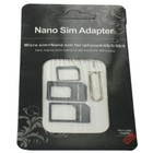Nano and Micro SIM adapter for Smartphones and Tablets