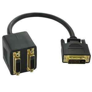 Adaptateur répartiteur DVI-D Dual Link 24 + 1
