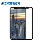 Choetech Premium Tempered Glass voor iPhone X - Zwart