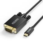 Choetech USB Type-C naar VGA kabel -1080P -  1.8 meter - Zwart