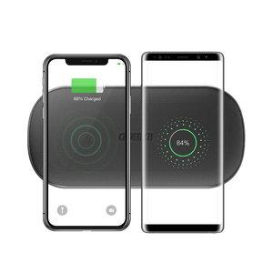 Choetech Chargeur sans fil pour la recharge de 2 smartphones - 5 bobines - 20 Watt (2x10W)