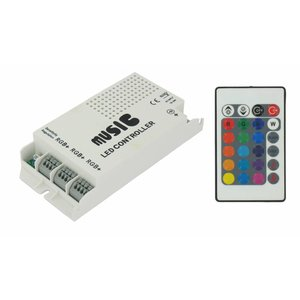 RGB LED Music Controller
