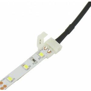 LED DC Jack Female Socket Connector Click to Single color