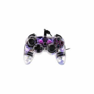 PS3 - Controller - Kabellos - Nachleuchten - Lila (PDP)