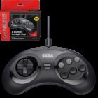 retro-bit SEGA Genesis Arcade-Pad-Controller mit 6 Tasten - USB