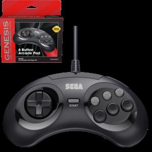 retro-bit SEGA Genesis 6-button Arcade pad controller - USB