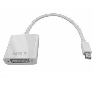 Mini DisplayPort Stecker auf DVI Buchse Adapter