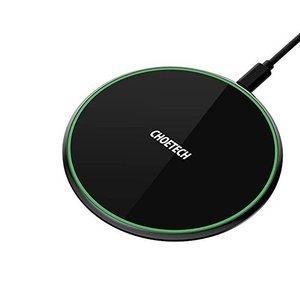 Choetech chargeur sans fil - Charge rapide 15 W - Noir