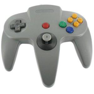 Controller für N64 Grau verkabelt