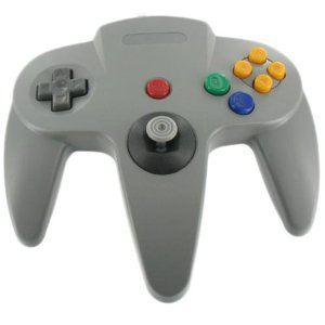 Controller wired for N64 Gray