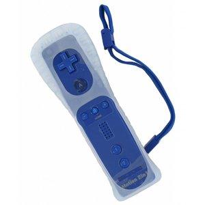 Télécommande pour Wii et Wii U avec Motion + en bleu