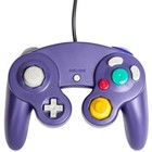 Controller Wired for the GameCube and Wii, Purple