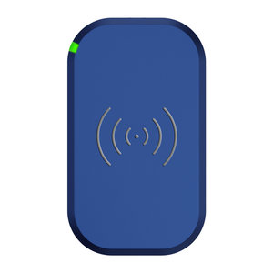 Choetech Wireless Qi Smartphone charger with 3 coils - 10W - Blue