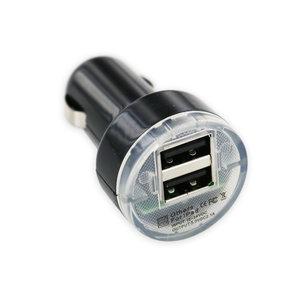 Autoladegerät mit zwei USB-Typ-A-Anschlüssen - 2.1A - 12V