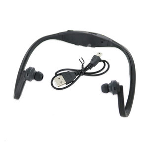 Sport Headset with MP3 Function Black