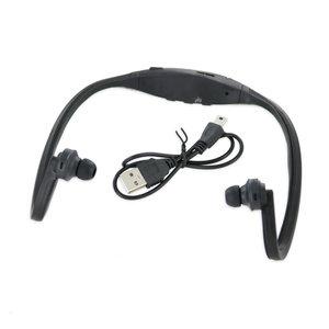 Sport-Kopfhörer mit MP3-Funktion schwarz