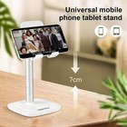 Choetech Tiltable smartphone holder with aluminum alloy - up to 10 inch - white