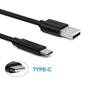Choetech USB-zu-USB-C-Lade- und Datenkabel - 3A - 1 Meter - schwarz