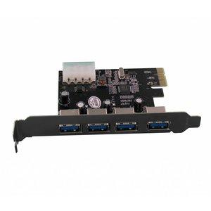5 Port USB 3.0 PCI Express Card
